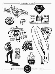 tattoo pictures download tattoo flash sheet download ghostly ferns