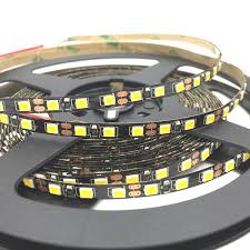 dc led strip lights black pcb 5mm width 2835 smd flexible led strip light 120led m dc12v