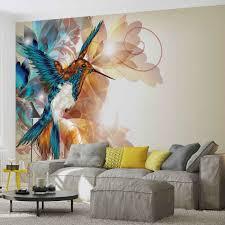 20 best ideas abstract art wall murals wall art ideas birds hummingbirds flowers abstract wall paper mural buy at with abstract art wall murals