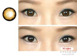 girly chip brown colored contacts pair y33 brown 24 99