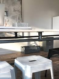 interior design studio long diy table for interior design studio simplified building