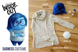inside out costumes diy inside out sadness costume