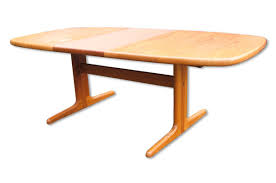 extendable teak dining table danish extendable oval teak dining table from skovby 1970s for sale