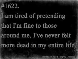 Not Good Enough Meme - i am tired of pretending that i m fine to those around me i ve