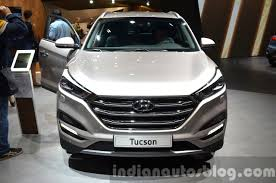 nissan tucson 2016 hyundai tucson face at 2015 frankfurt motor show indian