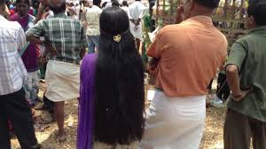 homely college long hair in kerala hair style youtube