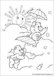 215 care bears images care bears colouring