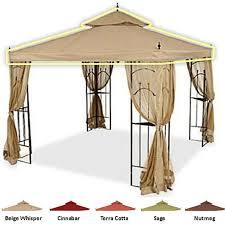 gazebo covers arrow gazebo replacement canopy riplock 350 56