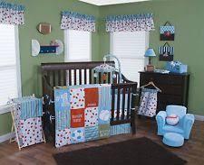 Sports Themed Crib Bedding Sports Crib Bedding Ebay