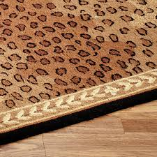 Cheetah Runner Rug Leopard African Area Rugs