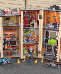 throwback highlight harley davidson product theme art collection harley davidson play set