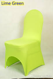 banquet chair cover lime green colour lycra universal chair cover for wedding