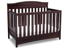 amazon com delta children emery 4 in 1 crib dark chocolate baby