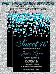 sweet 16 birthday invitations sweet 16 birthday invitations