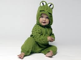 last minute halloween costumes via wacky baby knits by alison