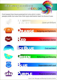 ford color make you feel good infographic