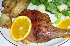 cuisiner cuisse de canard cuisse de canard à l orange la cuisine d