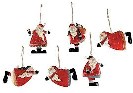 santa claus tree ornaments