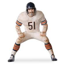 football legend butkus chicago bears ornament keepsake