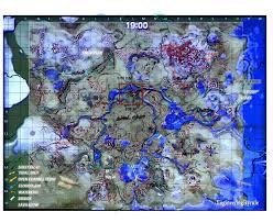 Skyward Sword Map Hyrule Castle Town Ruins Est Vs Witcher 3 Cities Size Comp