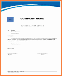 authorization letter sample authorization letter 04 46