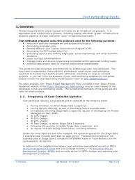 construction proposal template professional job estimate contrac