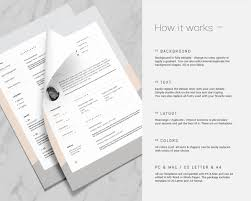 Iwork Resume Templates Nadia U2014 Resume Template On Behance
