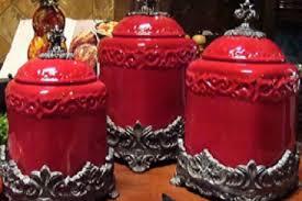 red kitchen canister set red kitchen canister set coryc me