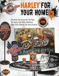Harley Davidson Home Decor Catalog Harley Davidson Roadhouse Collection Fall 2015 Catalog By Ace