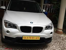 matte white bmw the x files mineral white bmw x1 sportline team bhp