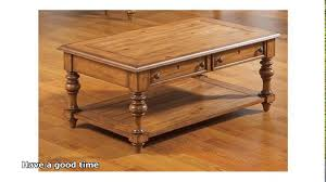 fresh broyhill coffee table cherry 14758