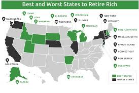 least expensive state to live in best cities for retirement in these income tax free states