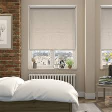 Thermal Blackout Blinds Luxe Blackout Sandstone Energy Saving Roller Blind