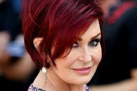 back view of sharon osbourne haircut sharon osbourne admits she misses booze sessions with husband ozzy