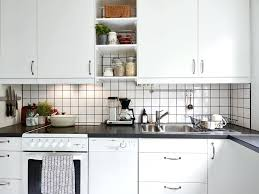 white subway tile in kitchen subway tiles with dark grout for