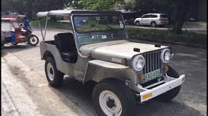 old jeep ride bacolod street view philippines santa clara youtube