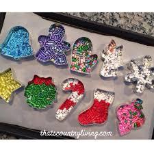 perler bead cookie cutter ornaments