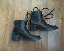womens boots made in spain boots size 8 etsy