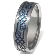 titanium celtic wedding bands titanium celtic wedding rings ck16 titanium rings studio