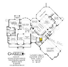 roxburgh manor house plan house plans by garrell associates inc