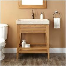 Open Shelf Bathroom Vanities Vanities Vanity With Open Shelves Under Vanity Open Storage