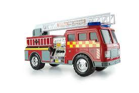 tonka fire truck tonka 07766 mighty motorized uk fire engine toy amazon co uk