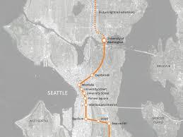Uw Seattle Campus Map by Sound Transit University Of Washington Station Swift Company