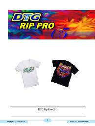 dtg rip pro c5 manual usb adobe photoshop