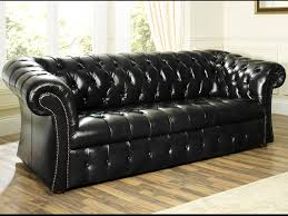 Leather Chesterfield Sofa Bed Buy Leather Sofa Bed To Save Space And Money Pickndecor