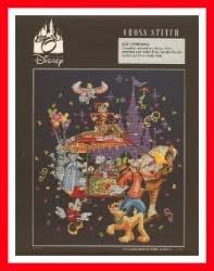 your wdw store disney cross stitch kit 35th anniversary