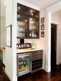 diy martini bar 15 stylish small home bar ideas hgtv