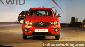nissan renault car renault kwid capable of returning 25 km l
