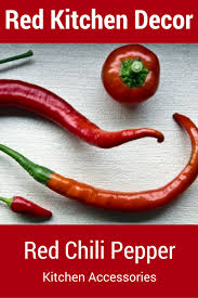 Chili Pepper Kitchen Rugs Red Kitchen Accessories U2013 All My Favorite Kitchen Appliances