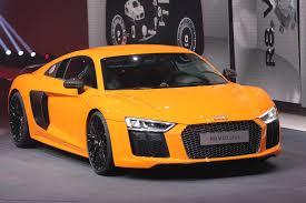 Audi R8 Gold - the audi r8 takes a step back automobile magazine